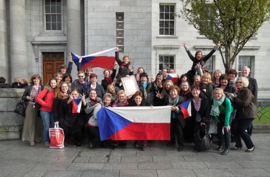 Mezinárodní sborová soutěž v Corku (Irsko)