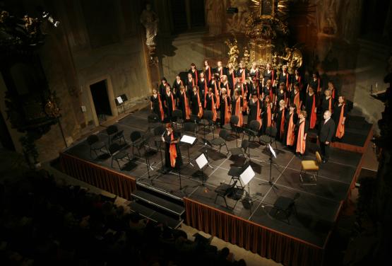 koncert k 35. výročí sboru