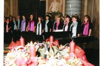 adventní koncert v Libeňském zámečku - 2. 12. 2003