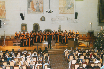 vánoční koncert v Betlémské kapli - 13. 12. 2003