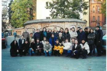 Bialystok - před katedrálou