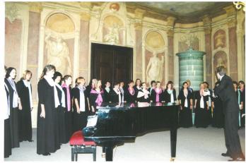 Libeňský zámeček - křest CD - 21. 6. 2001