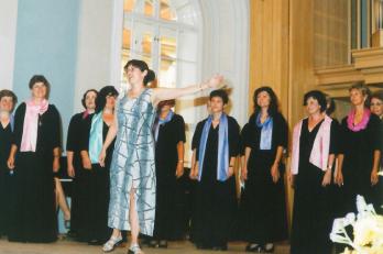 bývalá dirigentka Jana Veverková