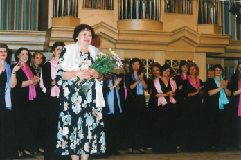 hlasová poradkyně sboru Dagmar Součková