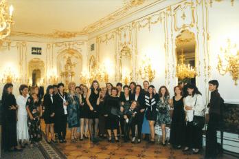 slavnostní raut ve Španělském sále