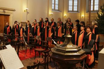 Vánoční koncert v kostele U Salvátora (foto P. Kaňkovský)